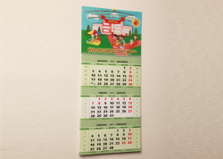 Календари натольные. Портфолио