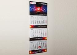 Печать фирменных календарей. Портфолио