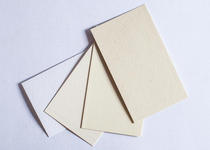 """Бумага для визиток """"лен"""""""