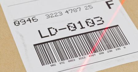 Печать прямоугольных наклеек со штрих кодом