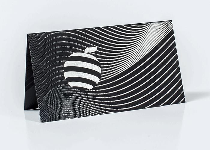 печать белым цветом на черном touch cover